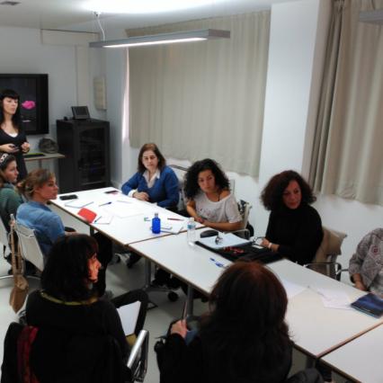 workshop de branding para emprendedores impartido por Aidearte estudio de diseño